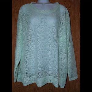 Come vintage lace shirt